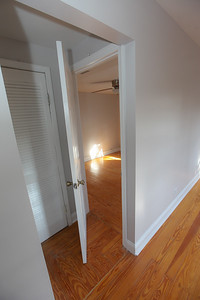 unit #3 entry into bedroom #1