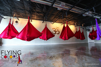 Flying Colors Aerial Yoga. Jacksonville Florida