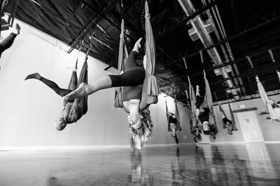 Flying Yoga Aerial Yoga