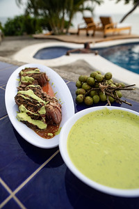 BBQ & Pool, Villas Playa Maderas