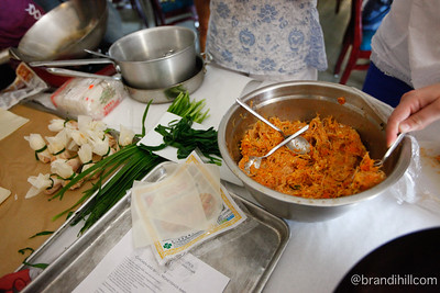 Blue Bamboo, Taste of Thai Cooking Class