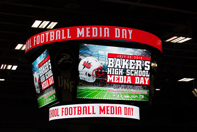 Baker's High School Media Day