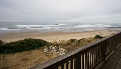 Anna's Cabana View from Deck. Clink Link for more info below:   http://www.cottagesbythebeach.com/annas_cabana.html Tell her Jonny sent you for a Discount!