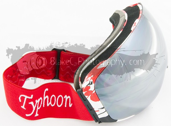 Goggles-red splatter-silver-002