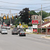 Lowell business owners around the corner of Roger Street and Douglas road, like Milan Pizza, are worried that the city will take significant portions of their land in order to make traffic improvements for the new high school that may move near Cawley Stadium. SUN/JOHN LOVE