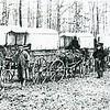 A Train of Bailey Wagon Ambulances (4348)