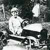 Joseph Bragassa Enjoying a Child-Sized Model-T (4397)