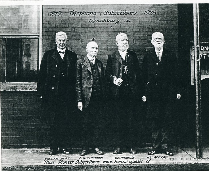 1879 Telephone Subscribers In 1926 (4430)