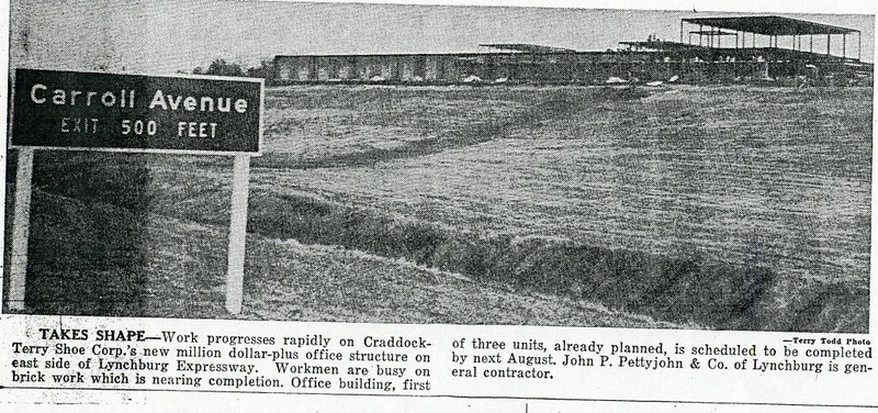 Construction of the new Craddock Terry Office Structure (4437)
