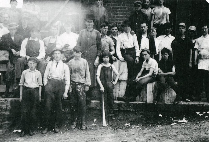 Child Labor at Craddock Terry Southland Plant, 1911 (4460)