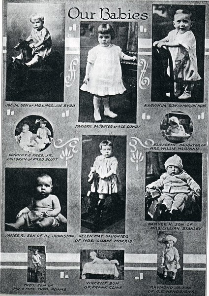 Children of several Craddock Terry Shoe Company Employees (4442)