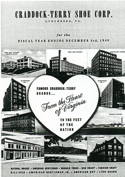 Cover of the 1949 Annual Report of the Craddock-Terry Shoe Corporation (4456)
