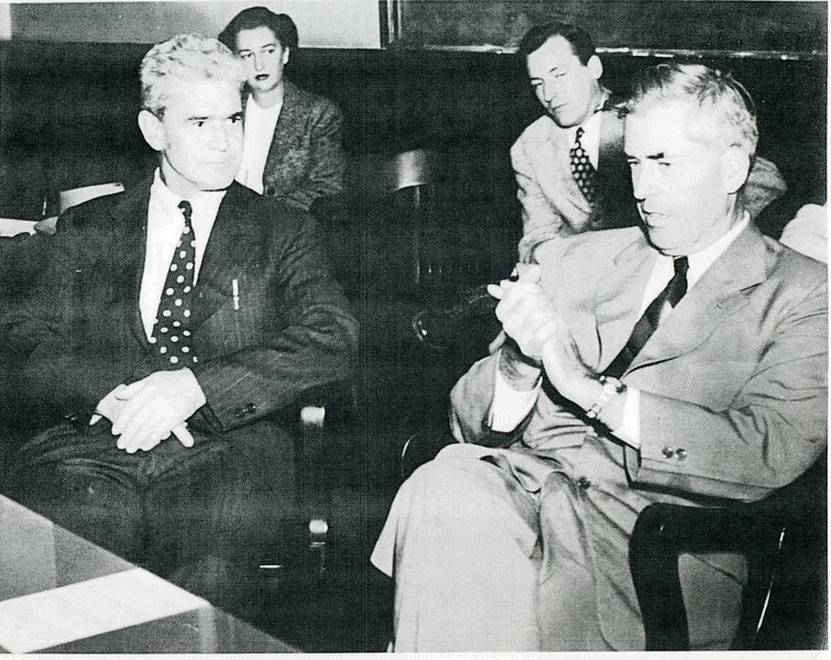 John D. Capron (far left), C. 1950 (4583)