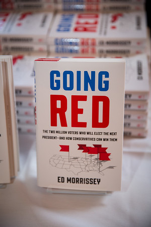 Going Red- Book signing 2016
