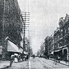 Guggenheim Department Store, left, at Eleventh and Main Streets before 1900 (4590)
