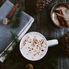 festive hot cocoa