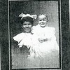 Portrait of an Unidentified  Woman and Child by Hill City Studio (4625)