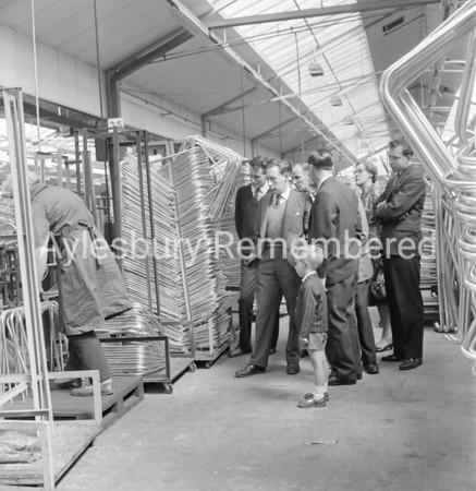 Oxford ironmongers visit Antiference, May 24 1962
