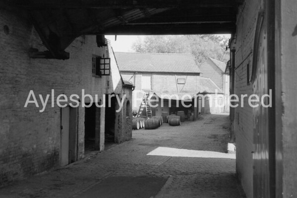 Aylesbury Brewery Company yard, 1963