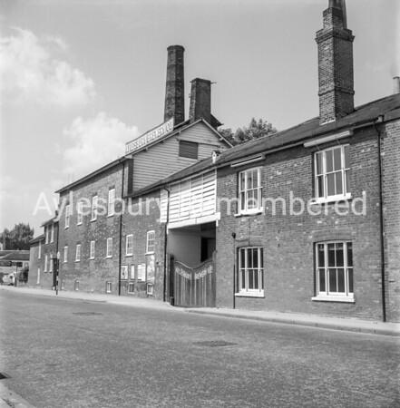 Aylesbury Brewery Co., Walton Street, c1963