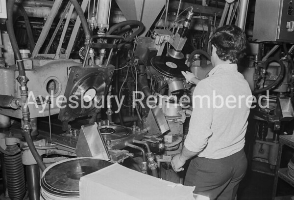 CBS factory, July 1974
