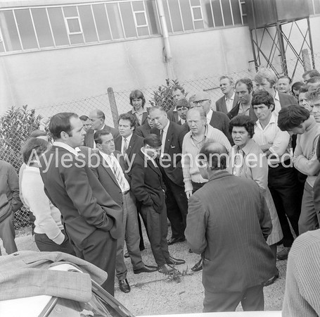 Pickets at Electropower Gears, Sep 1970