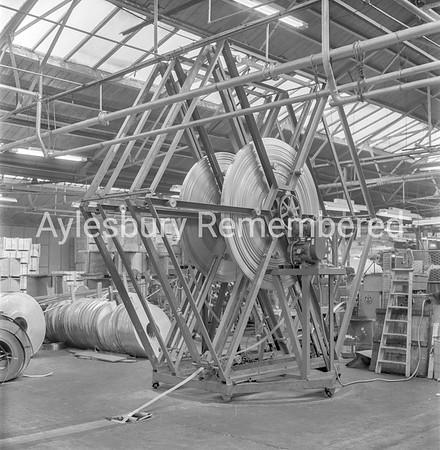 New machine at Elm Engineering, Feb 2nd 1962