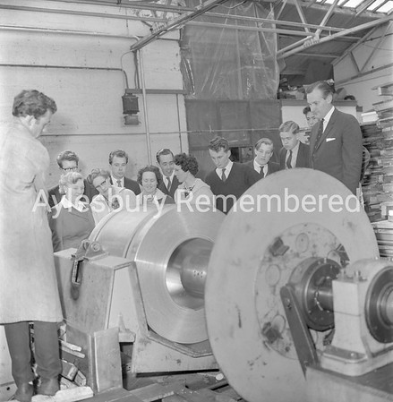Oxford Ironmongers at Elm Engineering, May 24 1962