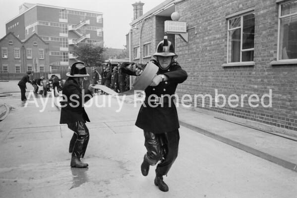 Hazell, Watson & Viney fire brigade, c1968