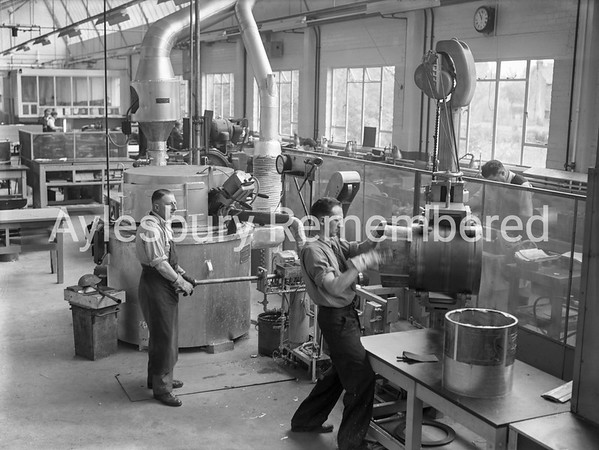 New extension at Hazell, Watson & Viney, May 22nd 1957