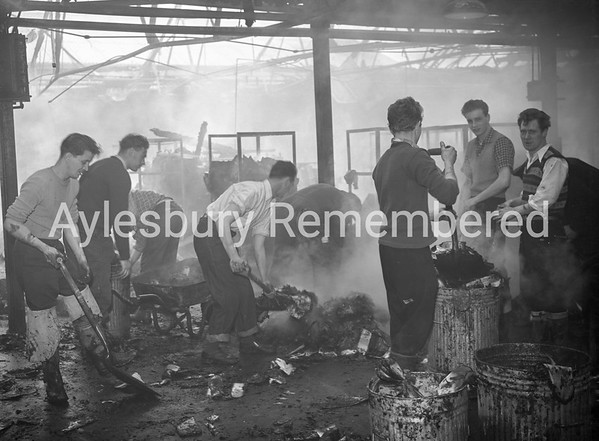 Fire at Hunt, Barnard & Co, Feb 24th 1959