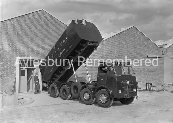 Delivery at Moorhouse's jam factory, June 29th 1956