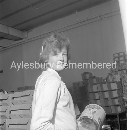 Mrs Bright at Nestlé, Mar 24th 1962