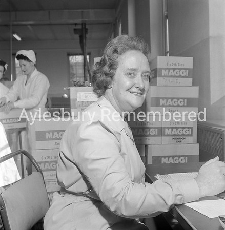 Mrs Turney at Nestlé, Mar 24th 1962