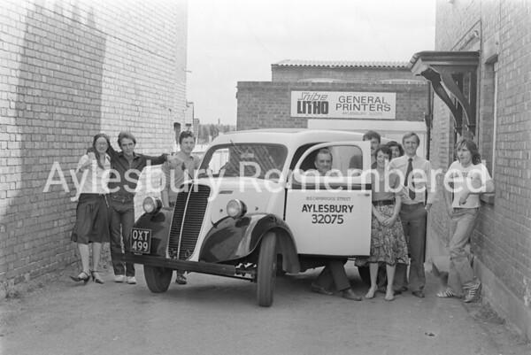 Snipe Litho, Cambridge Street, June 1983
