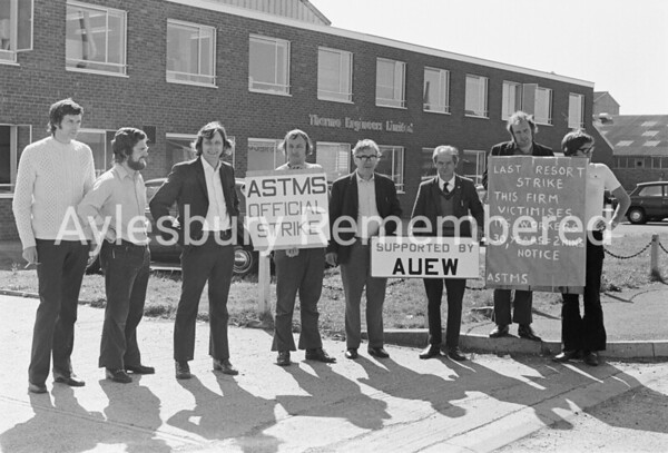 Pickets at Thermo Engineers, Sep 12th 1973