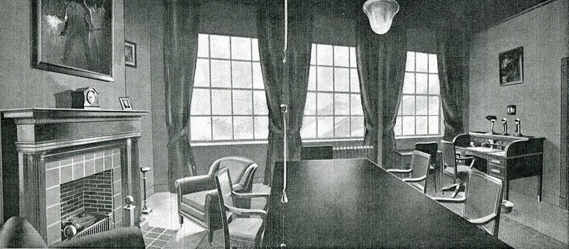 The Director's Room in the New Factory Building in Lynchburg (4368)