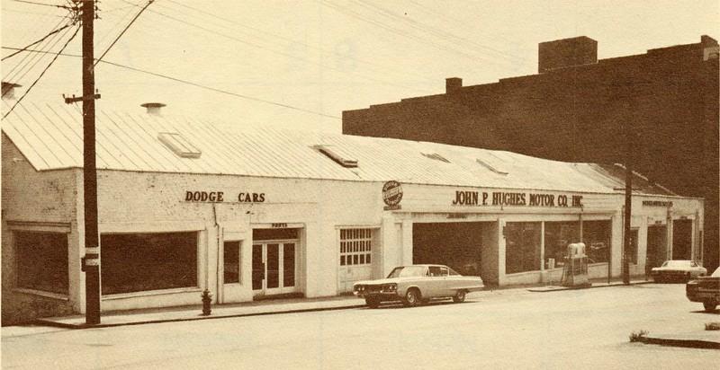 John P. Hughes Motor Company Location until 1968 (4629)