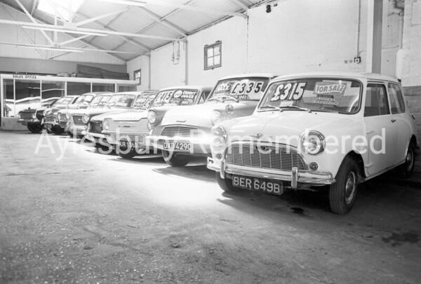 Benzoic Motors, Upper Hundreds, c1968