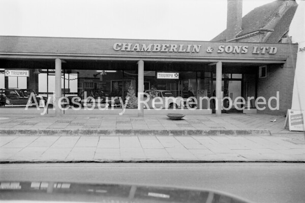 Chamberlin & Sons, Buckingham Street, Dec 1969