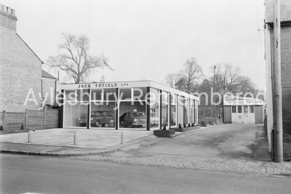 Jack Tofield, Park Street, Feb 1966