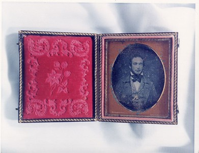 Daguerreotype of an Unidentified Man by Peter Gibbs II (4578)
