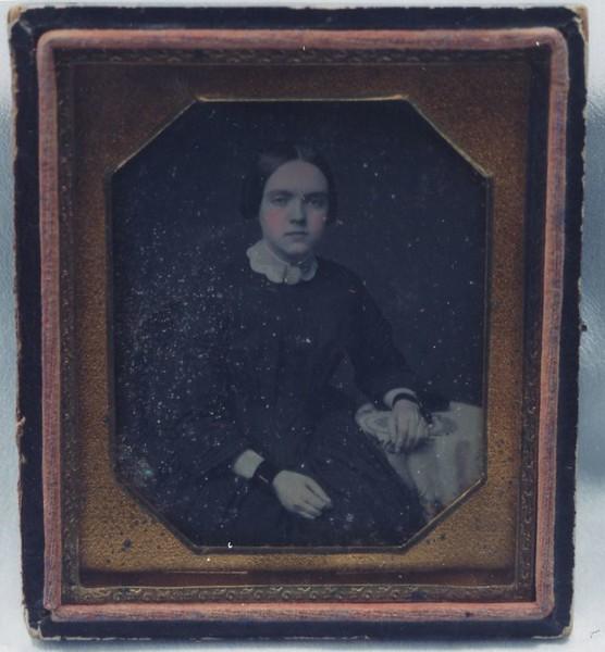 Daguerreotype of an Unidentified Woman by Peter Gibbs II(4582)