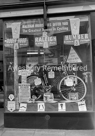 Bakers shopfront, April 14th 1954