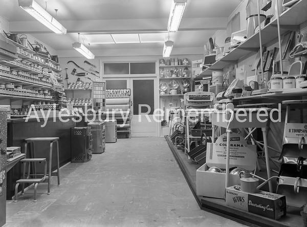 J. H. Bradford, ironmonger, 57 High St, Nov 1957