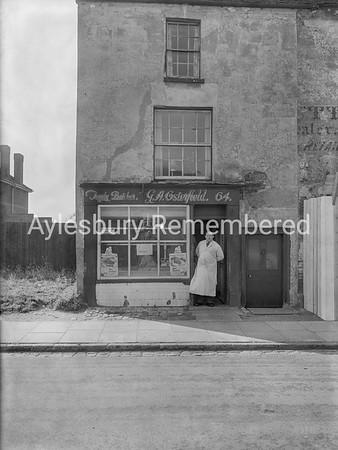 G. A. Osterfield, butcher, 64 Walton St, Oct 1957