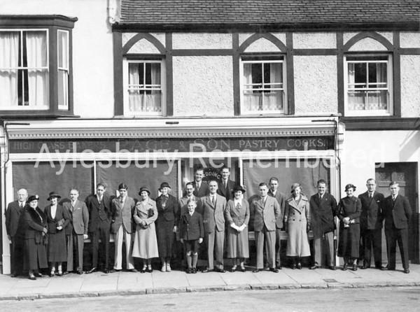 Page & Son, Buckingham Street, 1930s