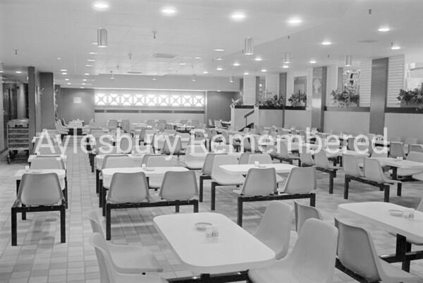 Woolworth restaurant, Sep 1983