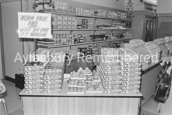 Woolworth Food Hall, Nov 1970