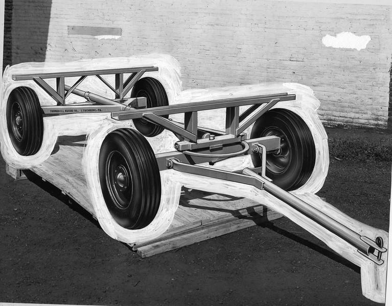Metal Wagon Chassis (03169)